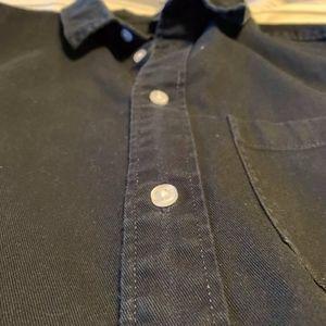 H&M Shirts - H&M Divided Mens Black Thick Button Down Shirt.